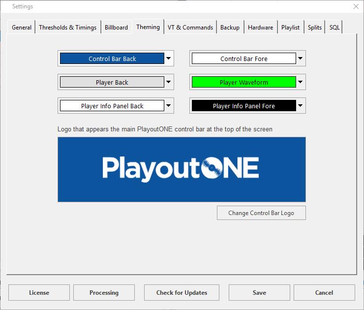 PlayoutONE Branding