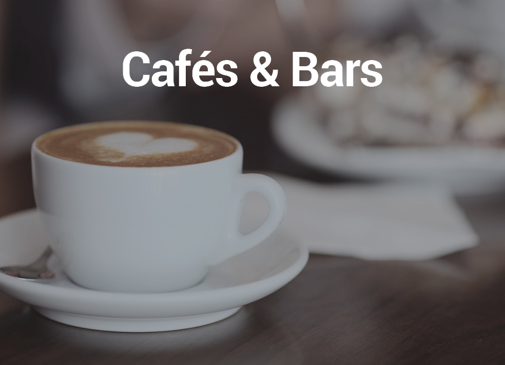 Cafés and Bars - Music automation