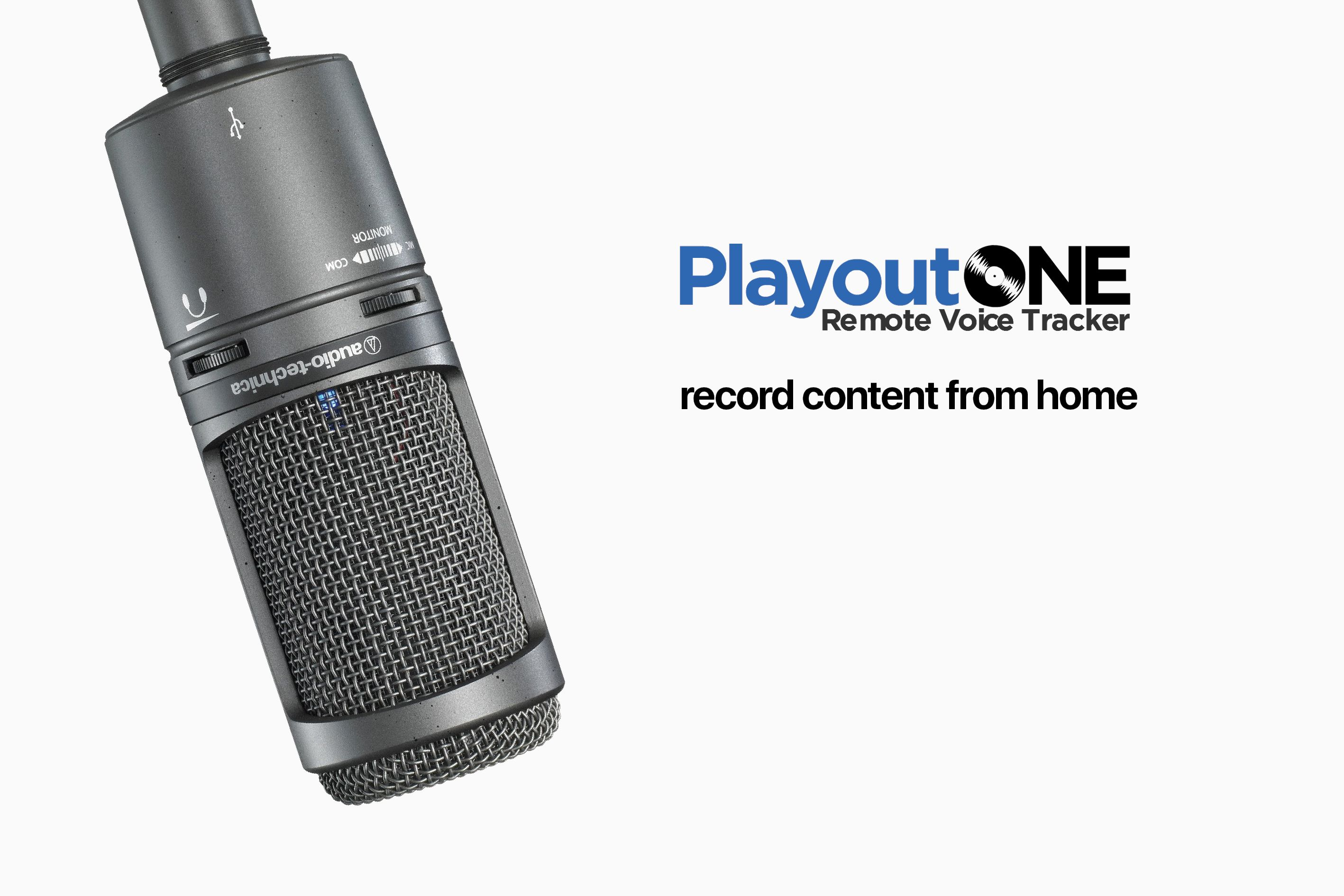 PlayoutONE Remote Voice Tracking