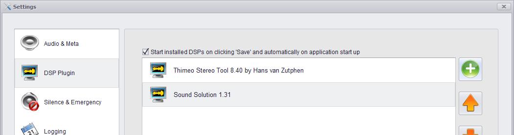 DSP's in LiveStream