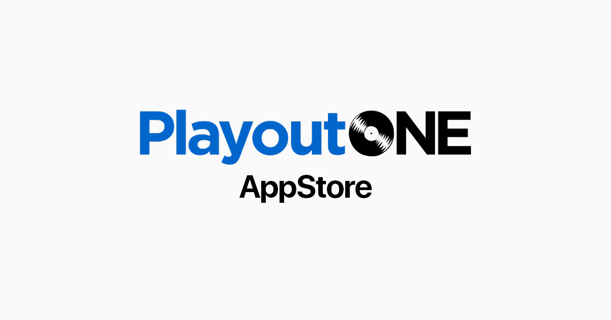 PlayoutONE AppStore