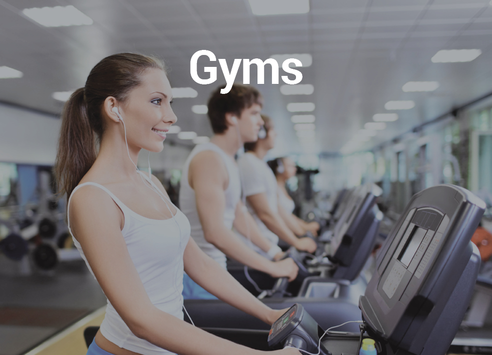 Gyms - Music automation