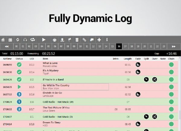 Fully Dynamic Log