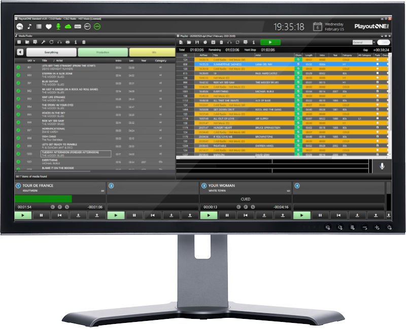 PlayoutONE Radio Automation Software for £100