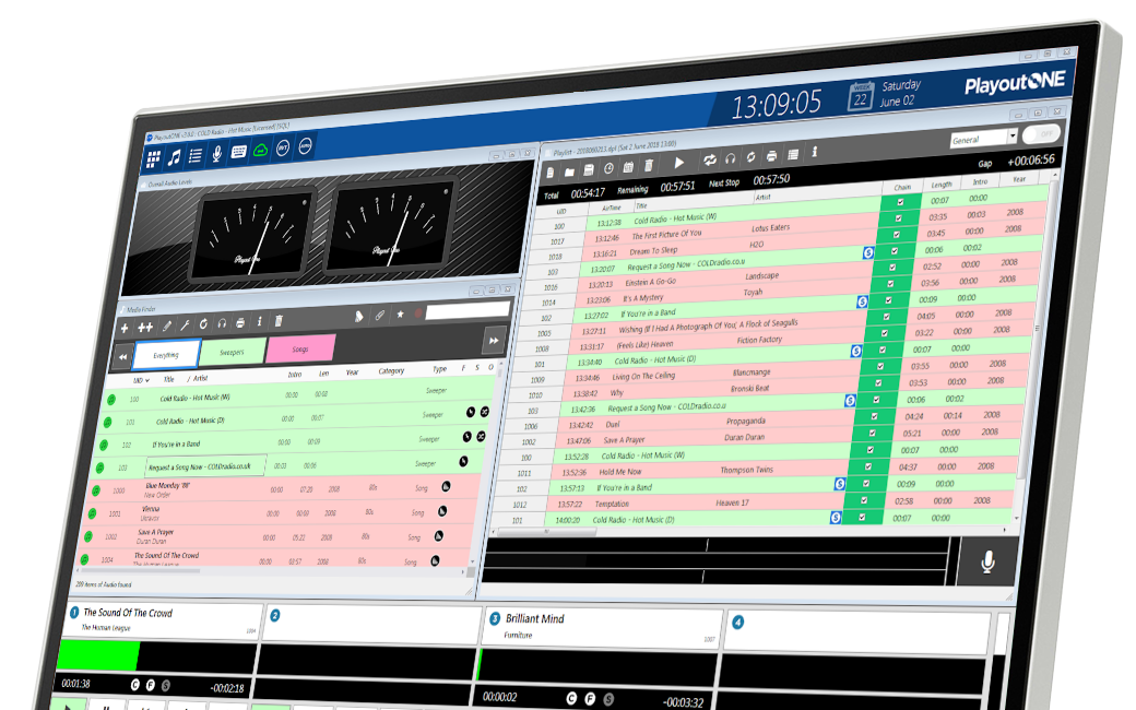PlayoutONE Radio Automation