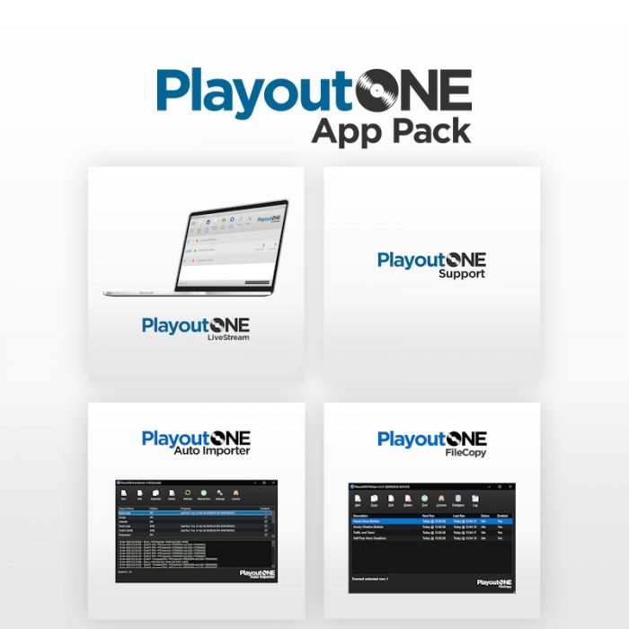 PlayoutONE App Pack Bundle