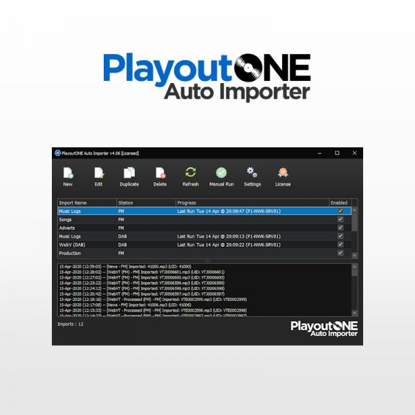 PlayoutONE Auto Importer v2