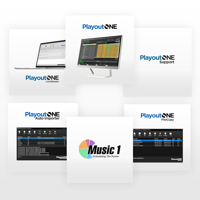 PlayoutONE & Music1 SE Internet Starter Pack