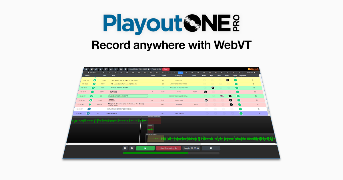 PlayoutONE - Radio Automation Software Simplified